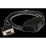 Cable DB9 9pin - 16pin OBD2