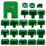 Adapters for programming 22 PCs (heads)